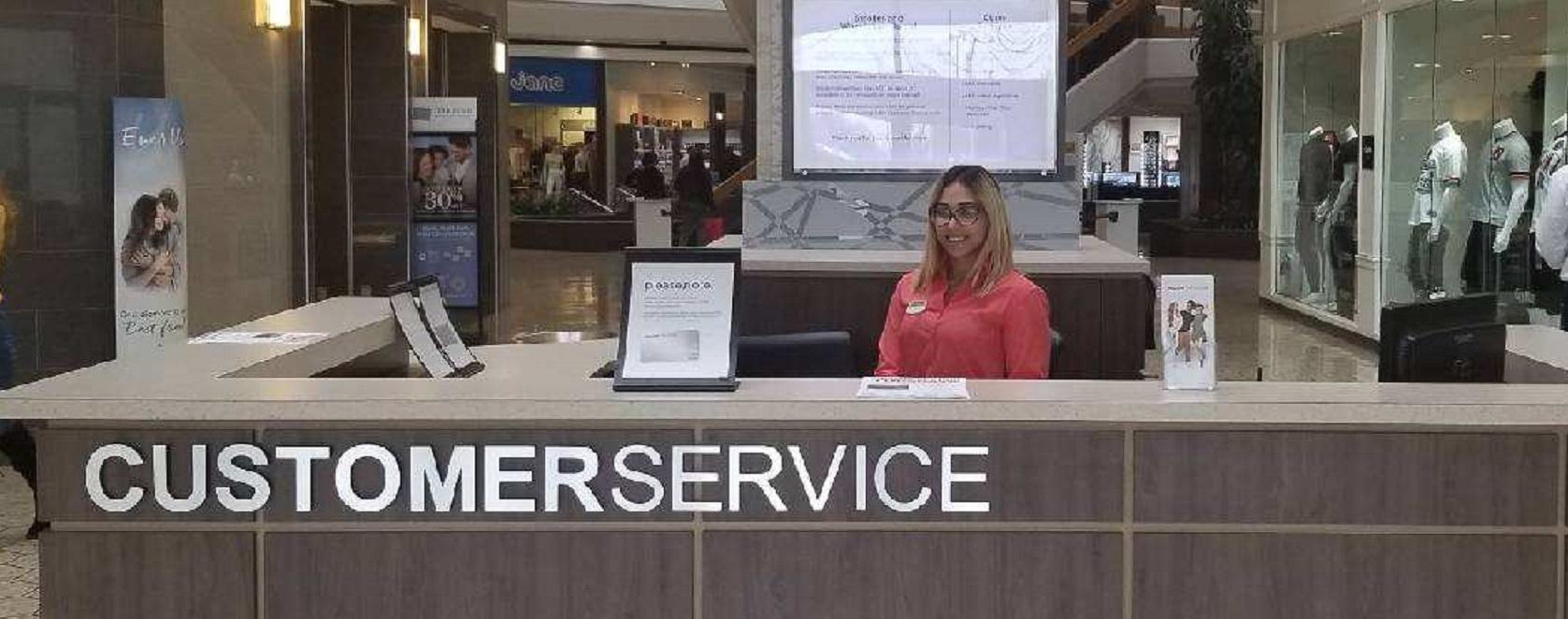 Customer Service Booth